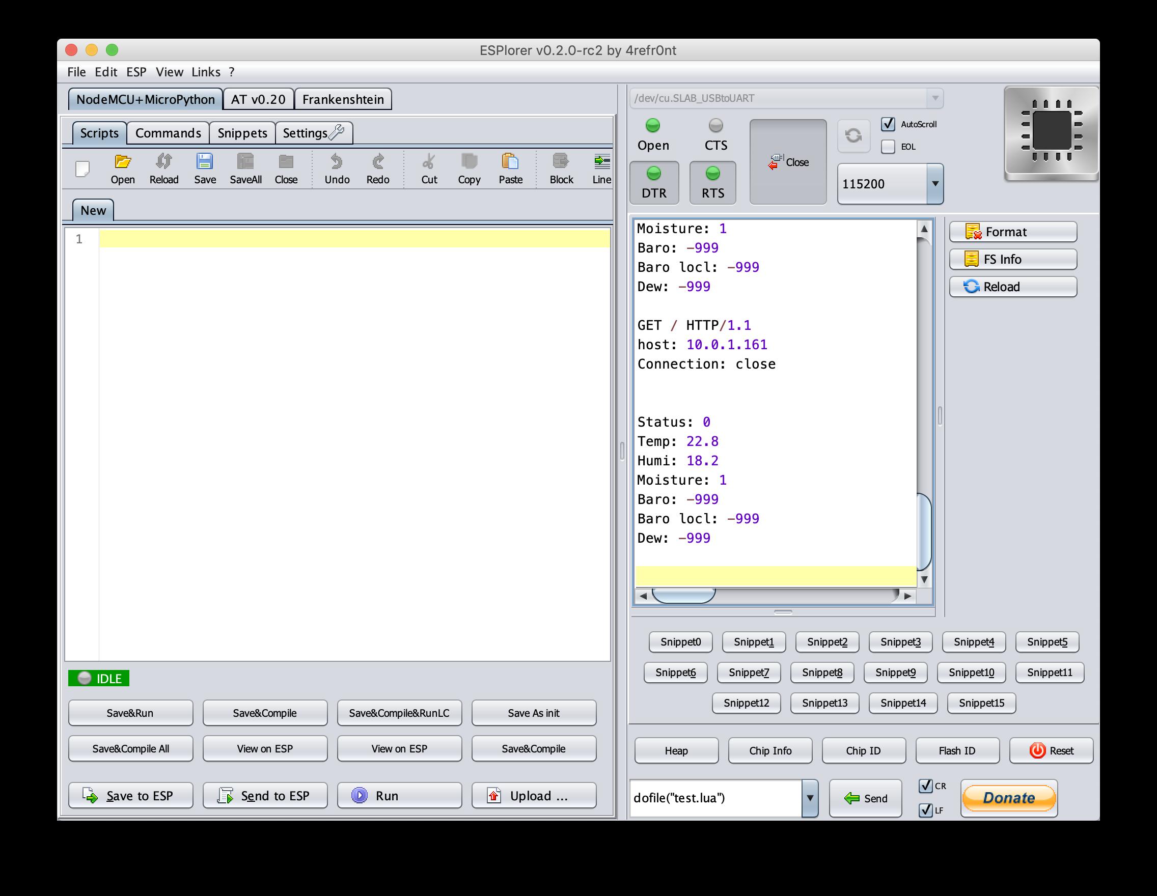 NodeMCU IoT Build Instructions – Working Paper